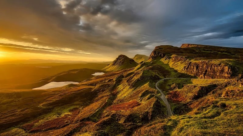 Scottish natural landscape