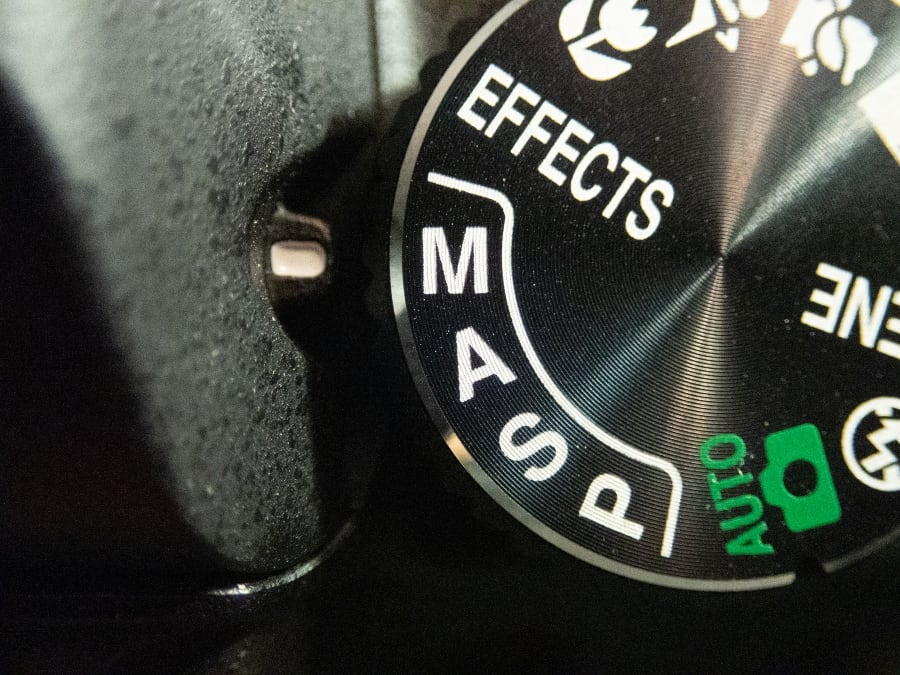 camera mode dial switch