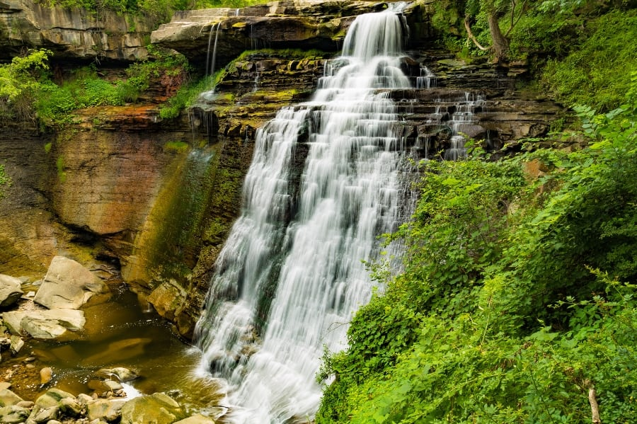 Cuyahoga Valley National Park Brandywine Falls