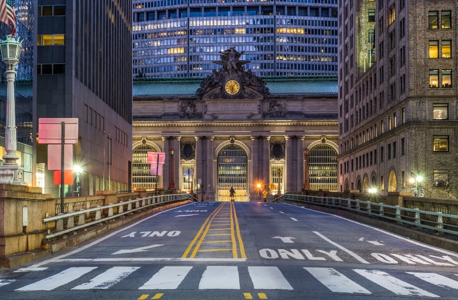 grand central station in NY